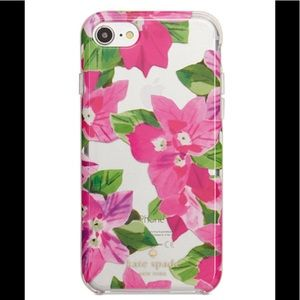 Kate Spade Bougainvillea Resin iPhone 7 case